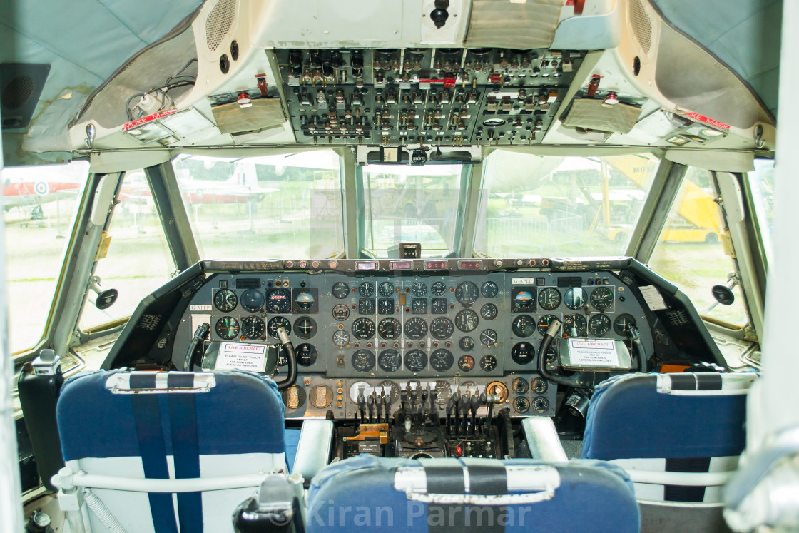 Vickers Vanguard Cockpit - License, download or print for £6 20