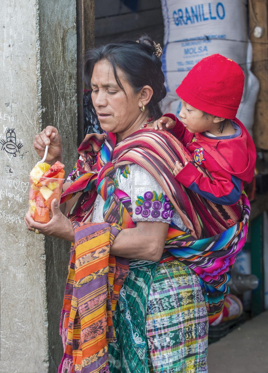 """Chichicastenango market"" stock image"
