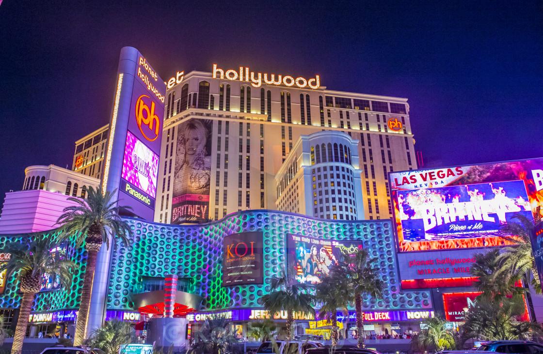 Las Vegas , Planet Hollywood - License, download or print