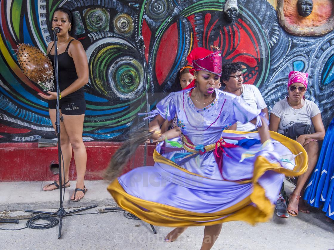 Rumba in Havana Cuba - License, download or print for £12 40