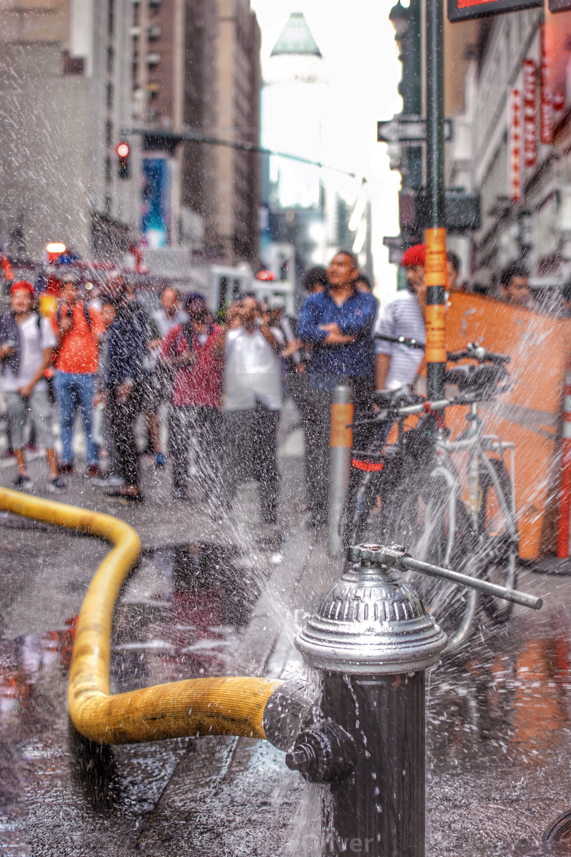 """Fire Hydrant NYC"" stock image"