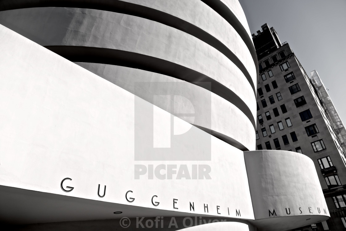 """""""Guggenheim Museum"""" stock image"""