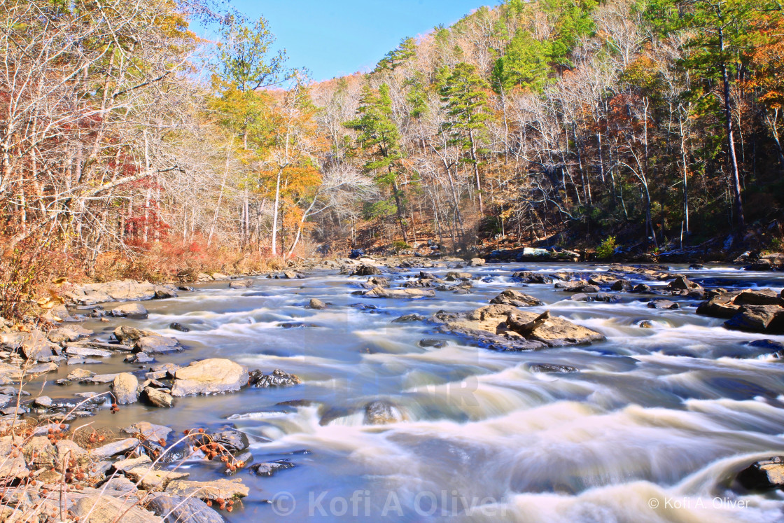 """Sweetwater Creek"" stock image"
