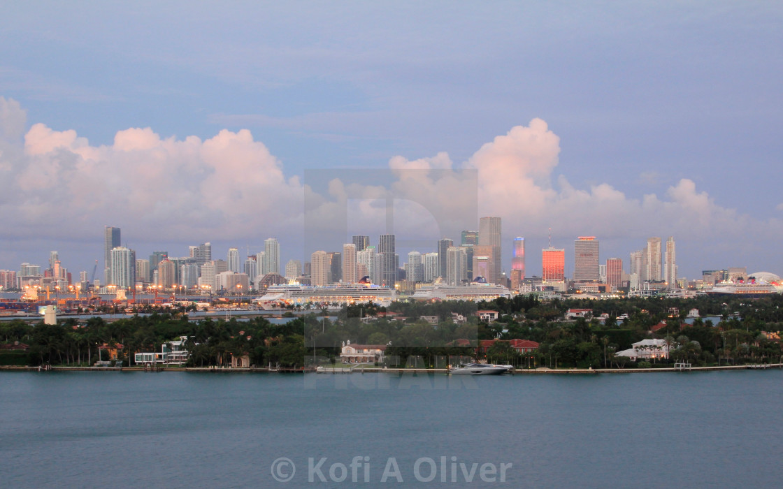 """Miami Florida"" stock image"