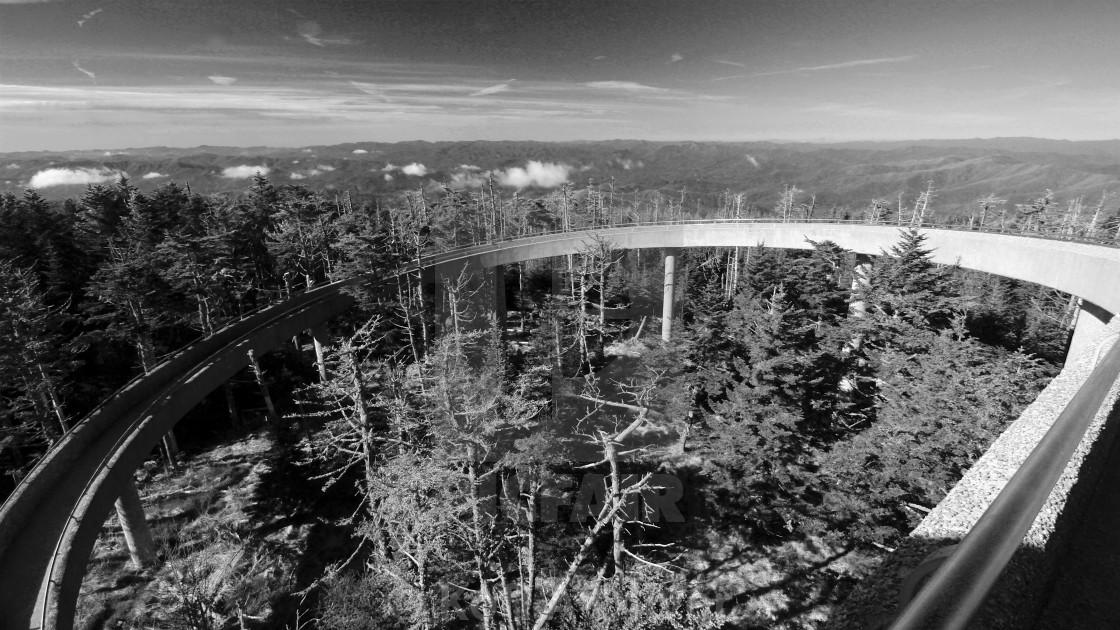 """Great Smoky Mountains"" stock image"