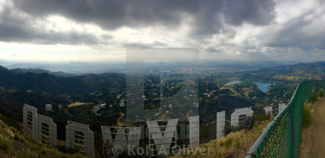 """Hollywood Sign"" stock image"