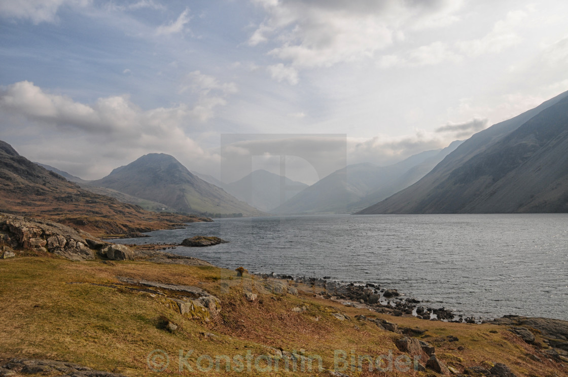 """Wast Water"" stock image"