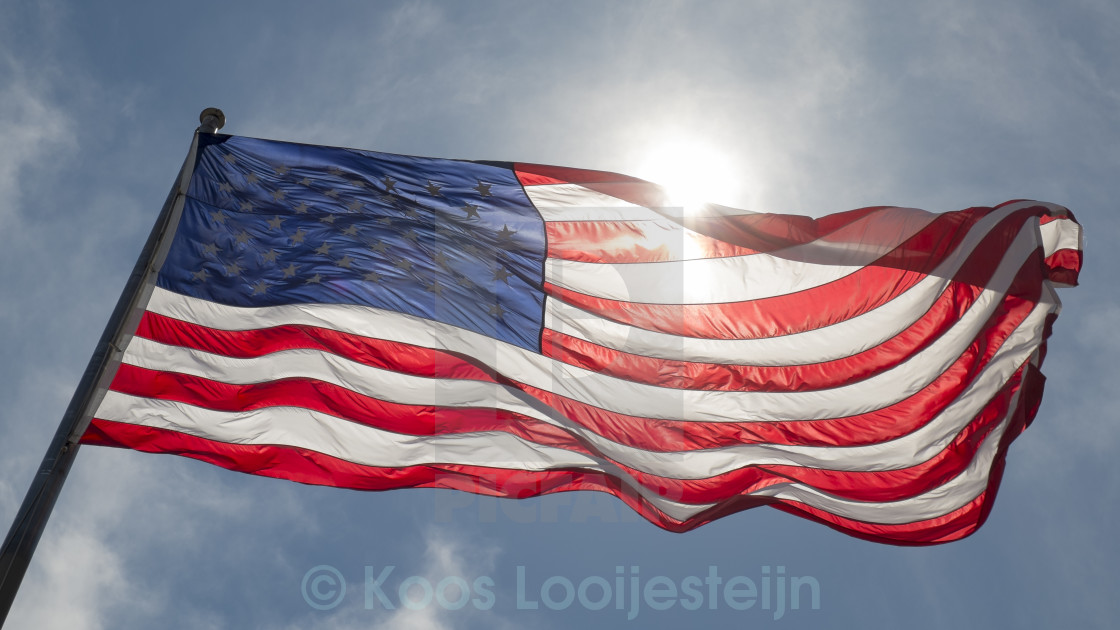"""American flag"" stock image"