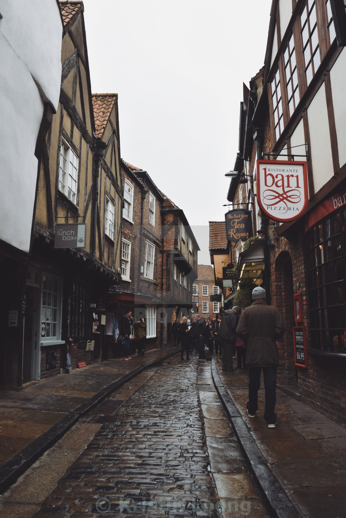 """Streets of York"" stock image"