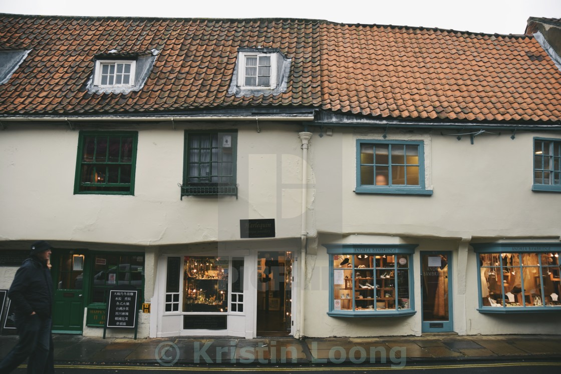 """Shops in York"" stock image"