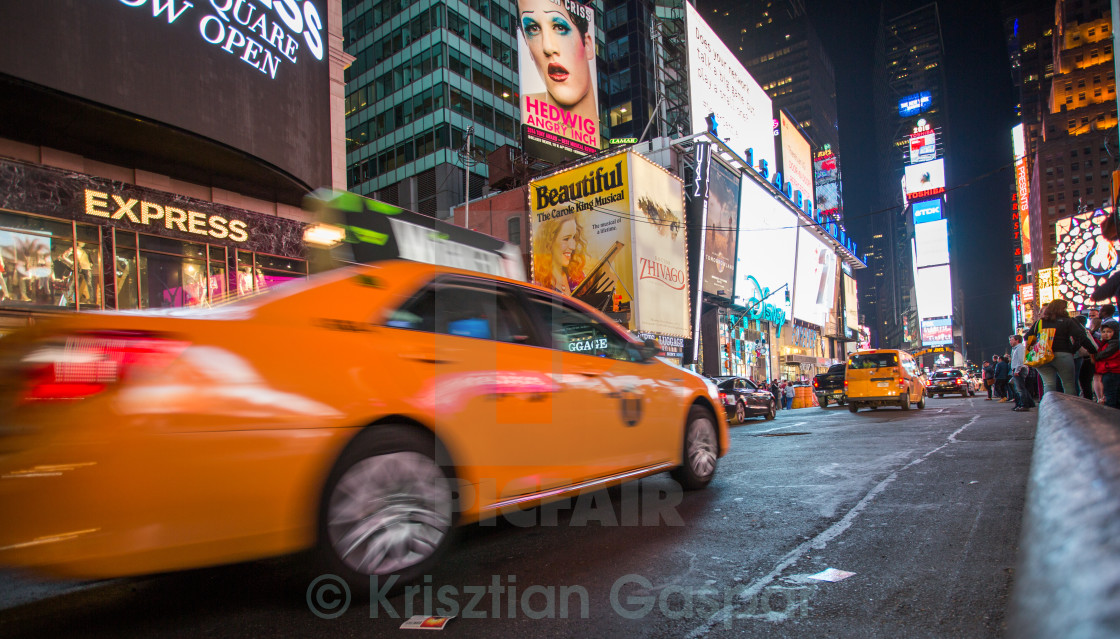 """Times Square at Night"" stock image"
