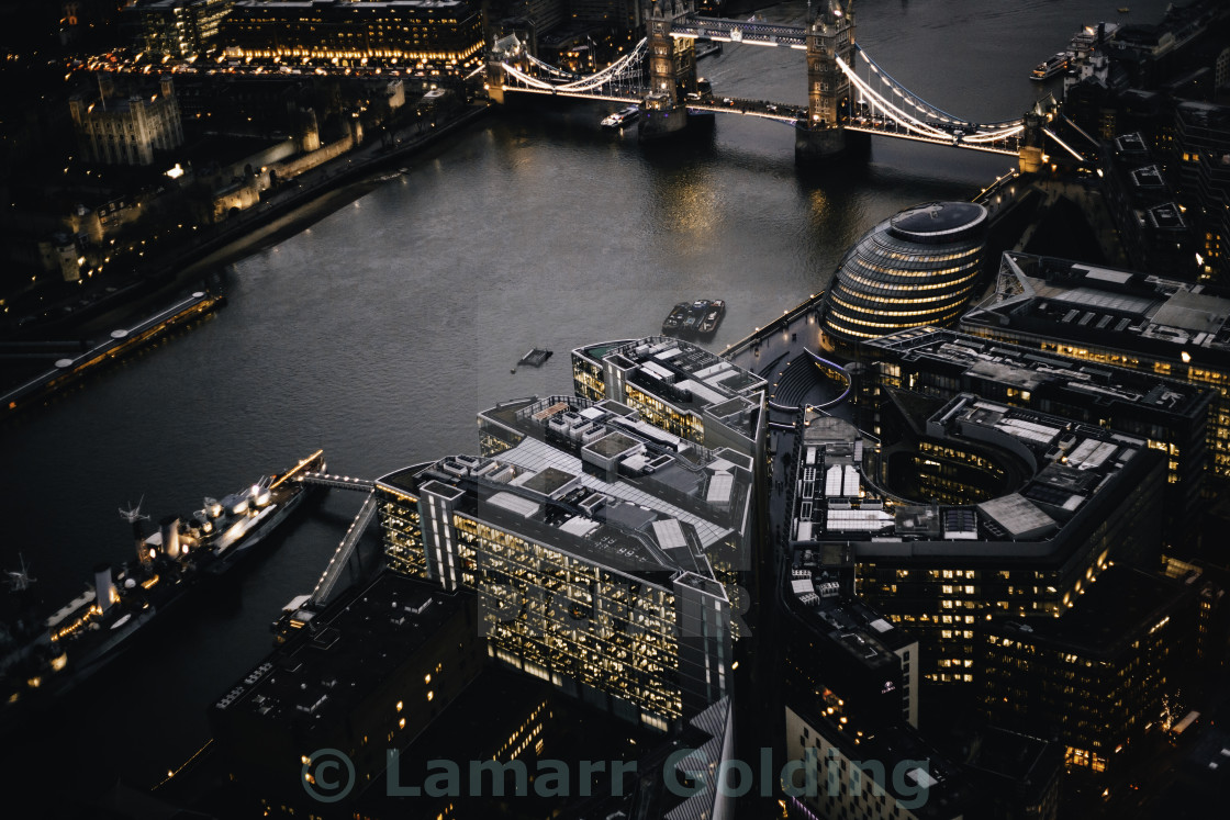 """LONDON BRIDGE"" stock image"