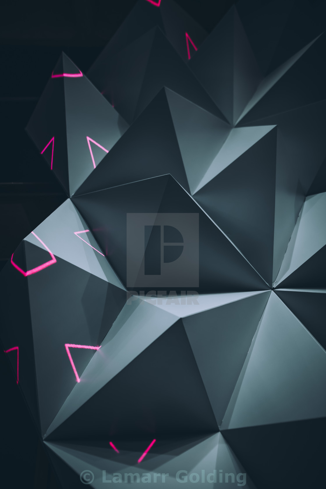 """SPIKES 02"" stock image"