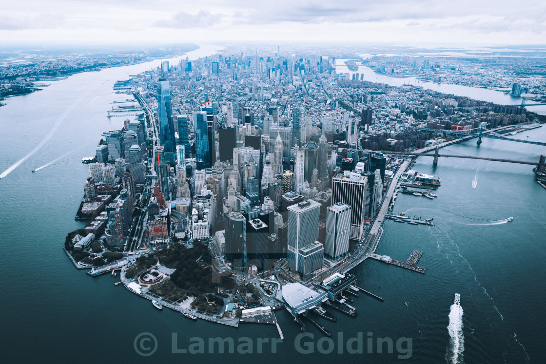 """MANHATTAN 1"" stock image"