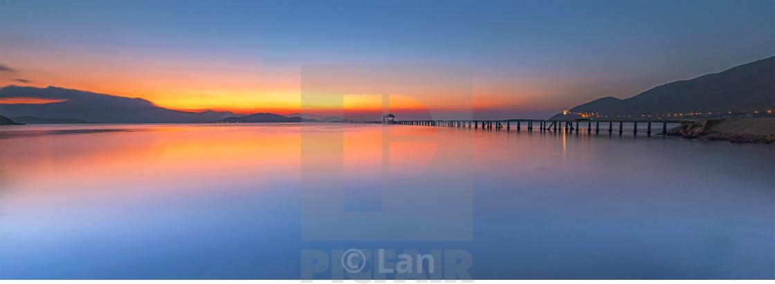 """A bridge to the future"" stock image"