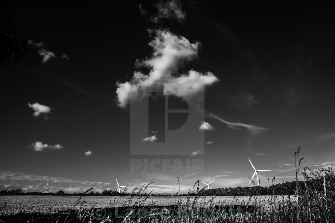 """Wind and cloud"" stock image"