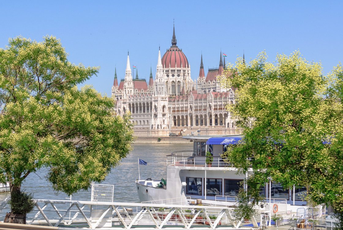 """Hungarian Parliament Building - Budapest"" stock image"