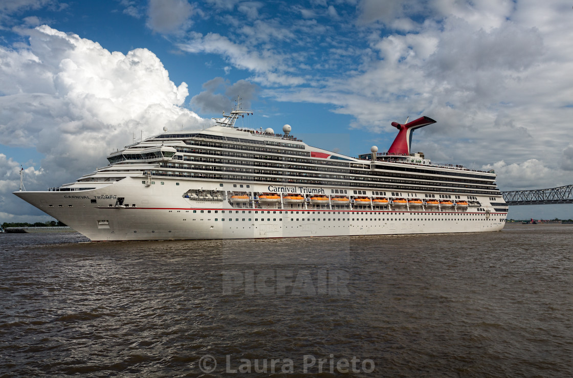 """Holiday Cruise - Port of New Orleans"" stock image"