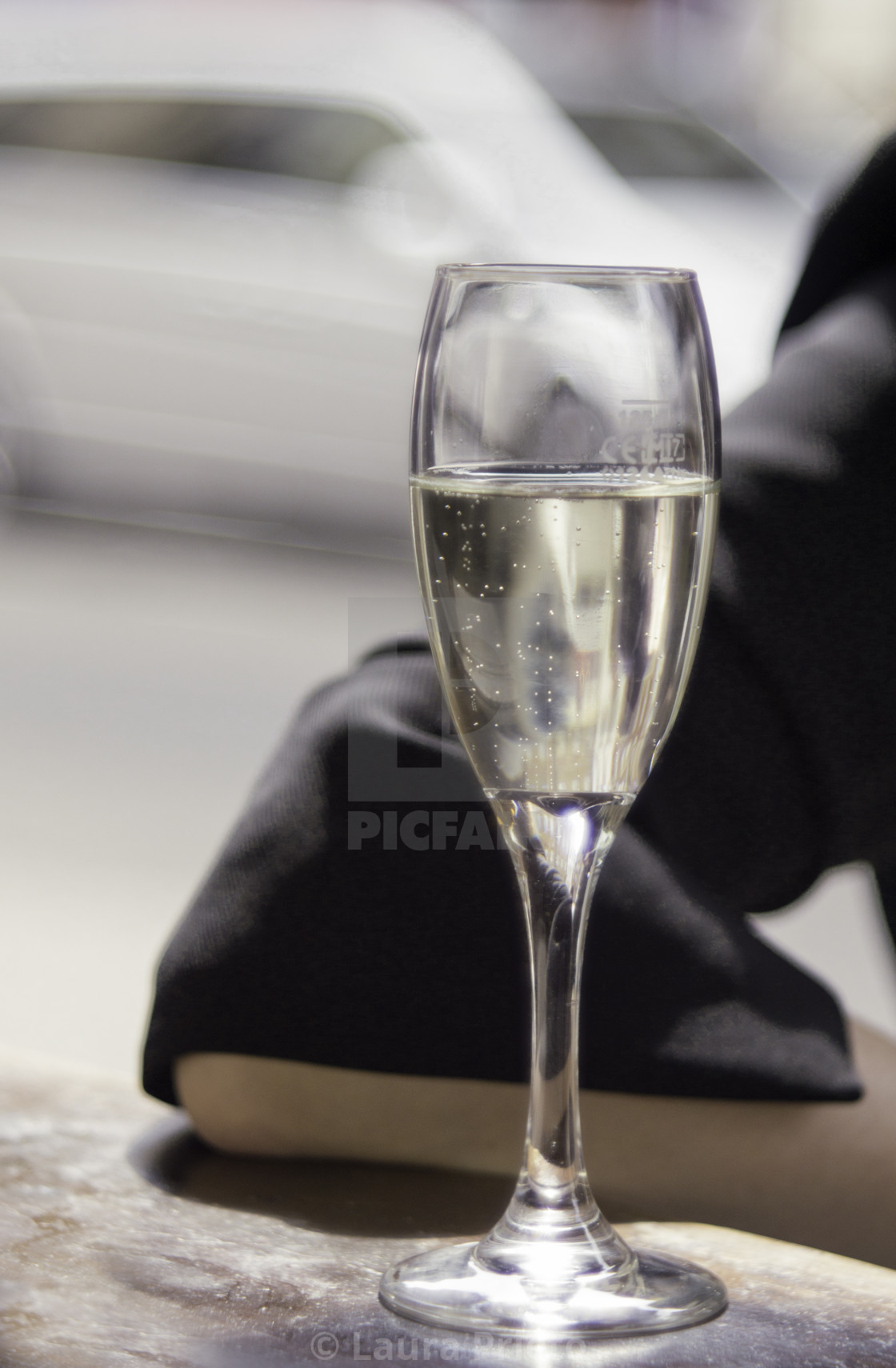 """Bubbly Glass"" stock image"