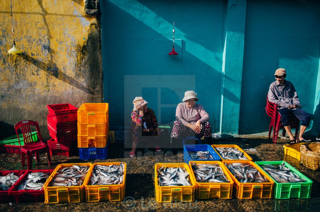 """Fish-market"" stock image"