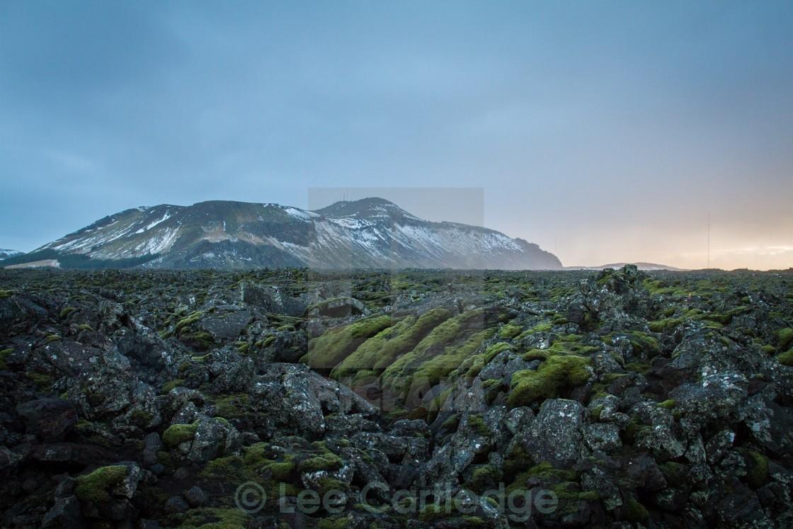 """""""Iceland landscape"""" stock image"""