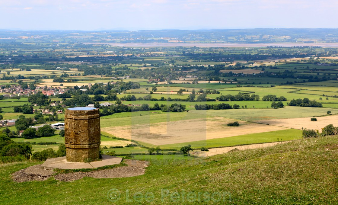 """Landscape country view over Gloucestershire"" stock image"
