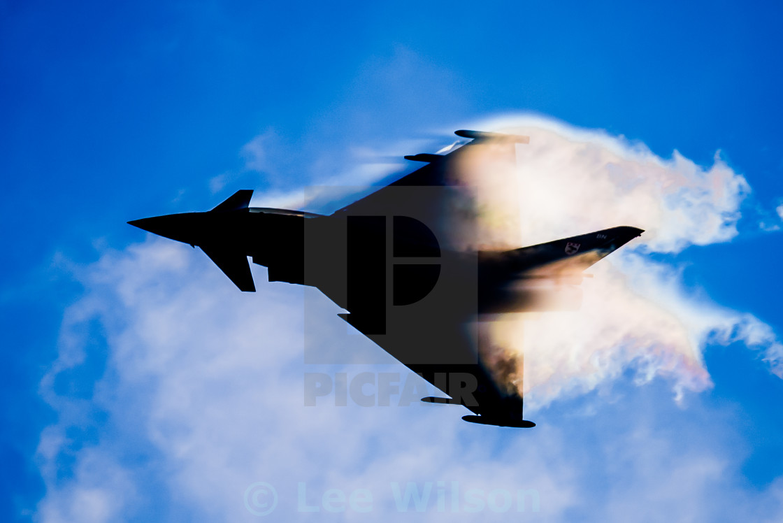 """Typhoon Silhouette"" stock image"