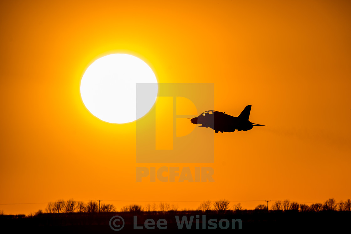 """Reds Sunset"" stock image"