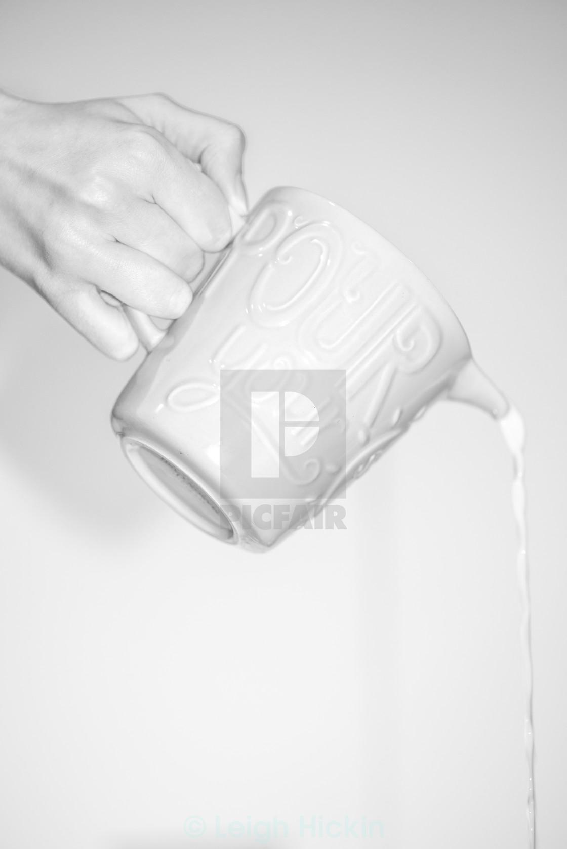 """The Milkjug"" stock image"