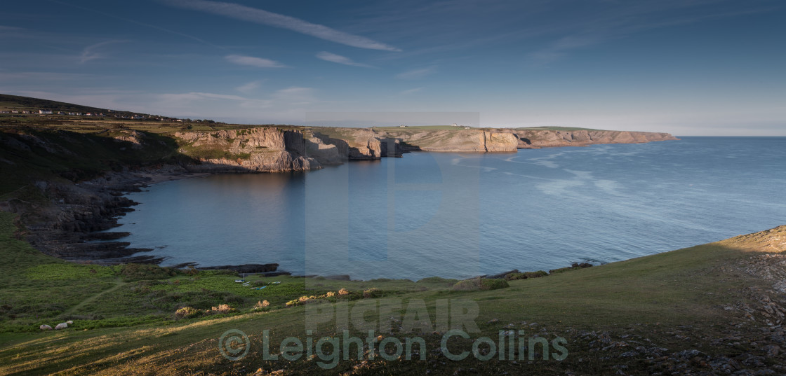 """South Gower coastline"" stock image"