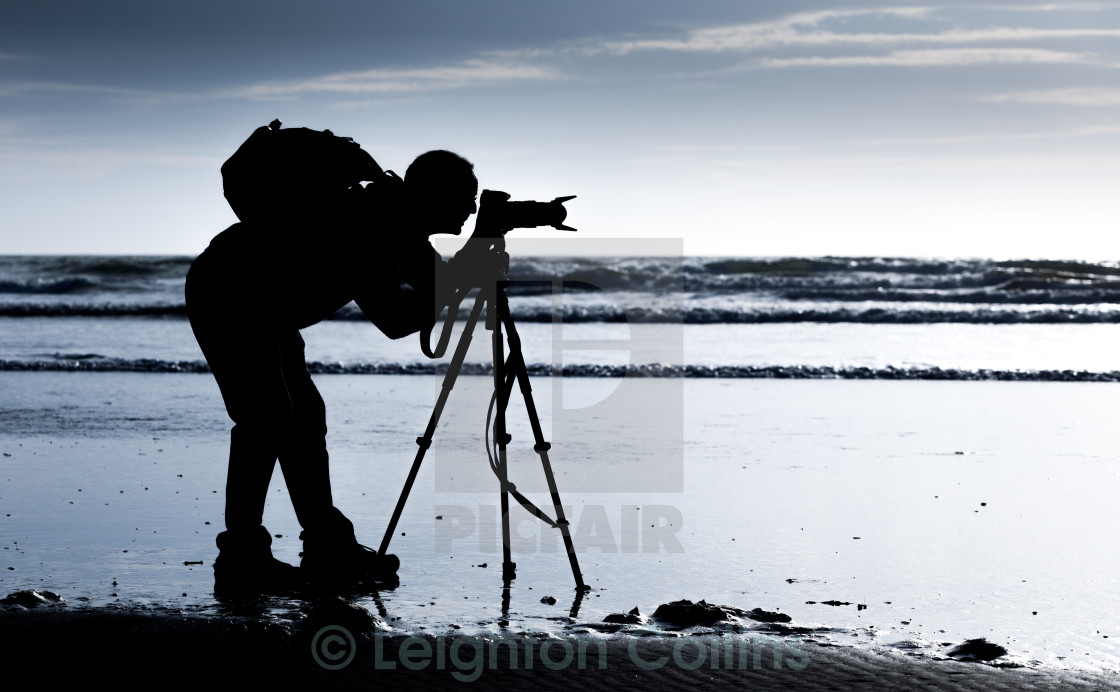 """The Photographer"" stock image"