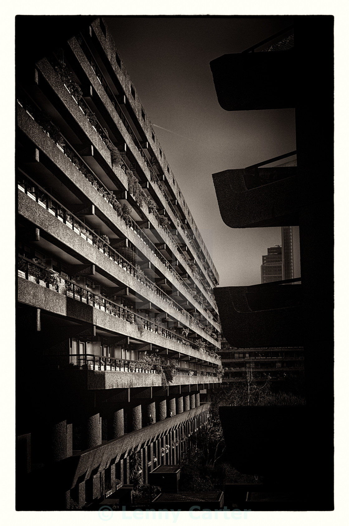 """Barbican Peek"" stock image"