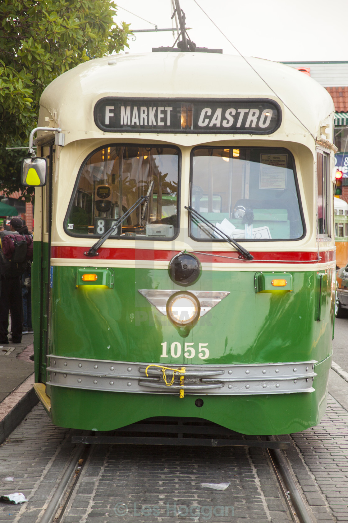 """San Francisco Streetcar"" stock image"