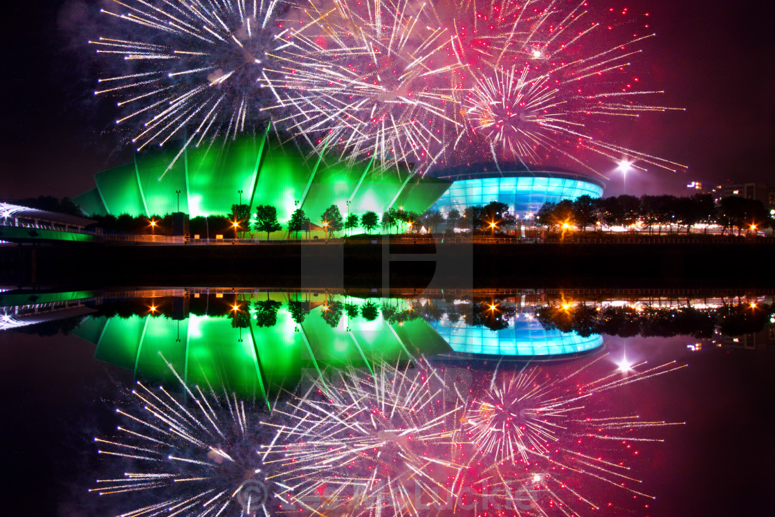 """Glasgow Games"" stock image"
