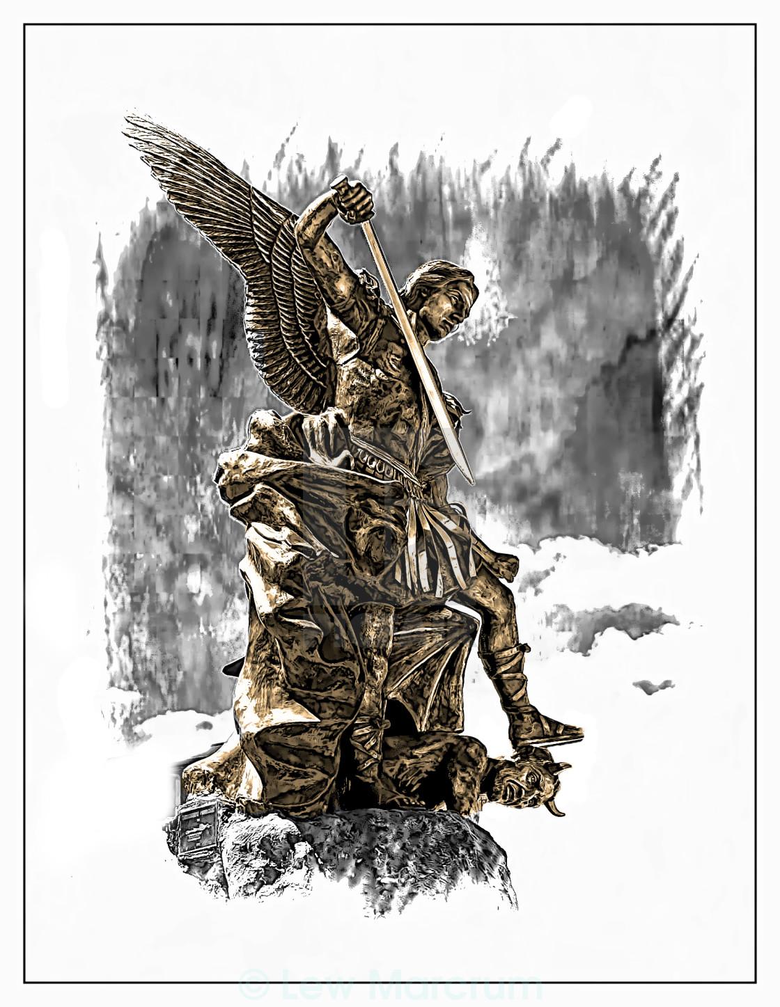 St Michael Archangel Rendered License Download Or Print
