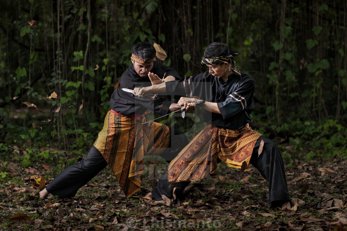 """Pencak Silat Fight 4"" stock image"
