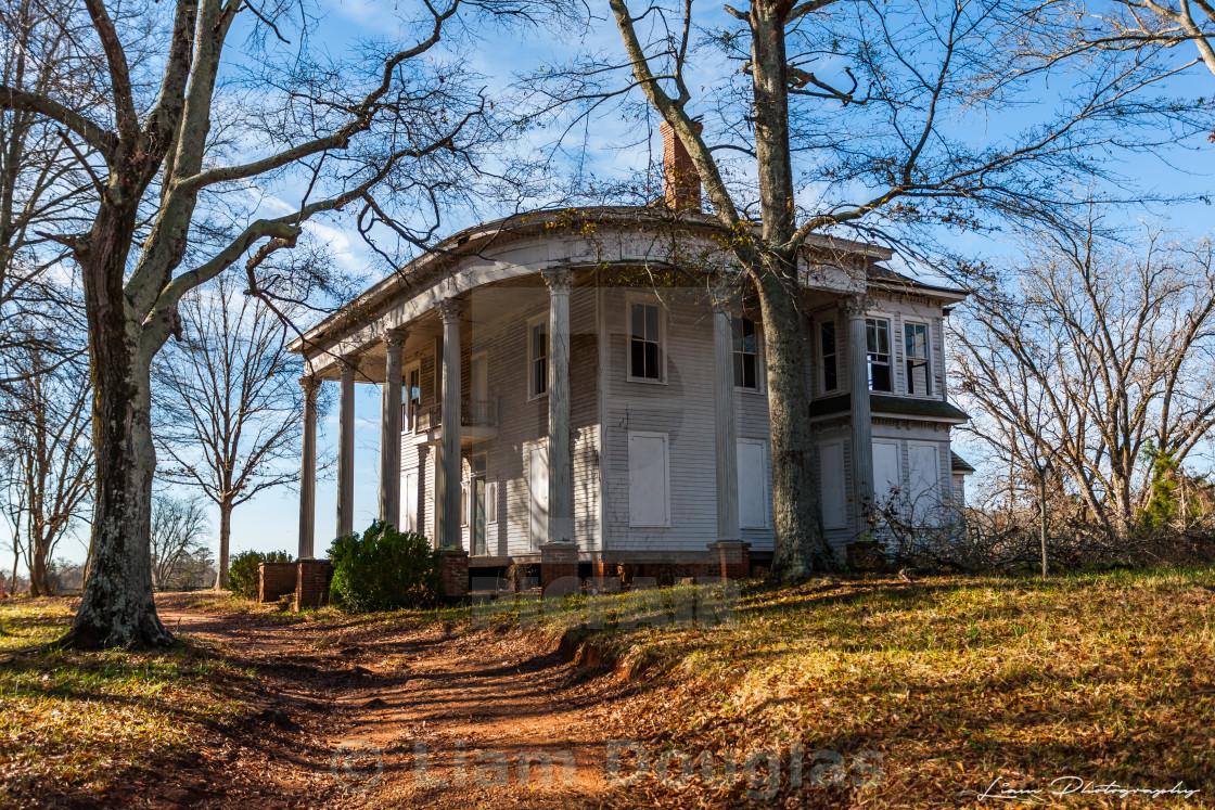 """""""Thomas Nolan Plantation Home"""" stock image"""