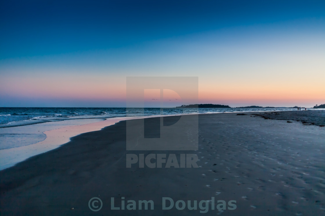 """Tybee Island Beach"" stock image"