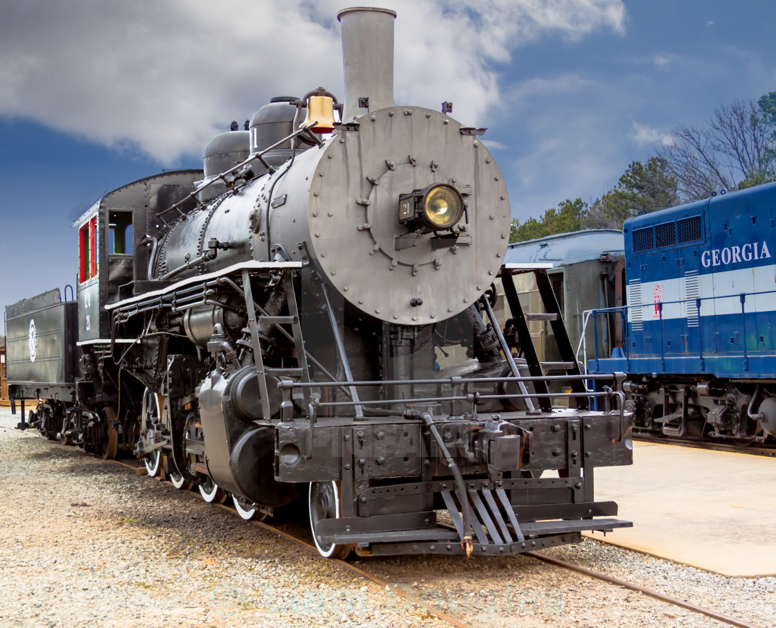 """Engine 21"" stock image"