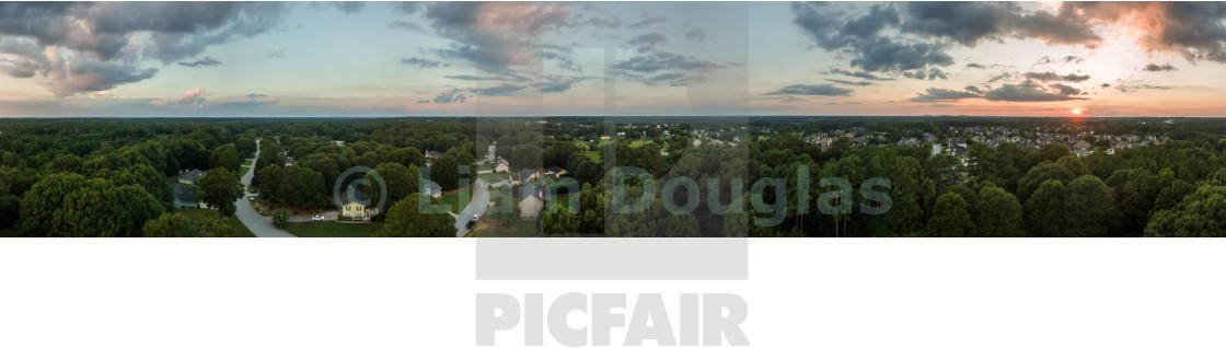 """360 Degree Panorama of Loganville, Ga"" stock image"