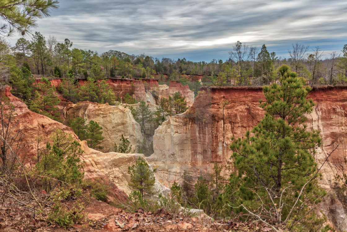 """Providence Canyon"" stock image"