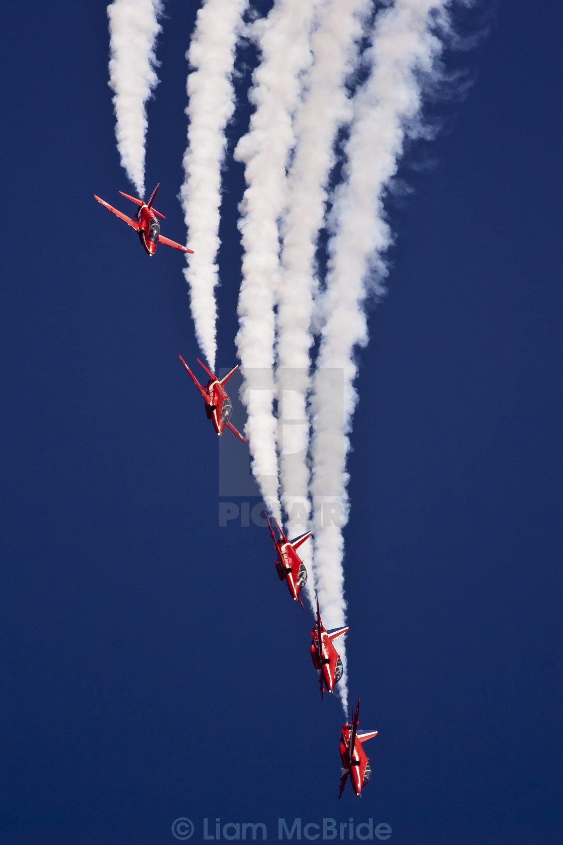 """Red Arrows"" stock image"