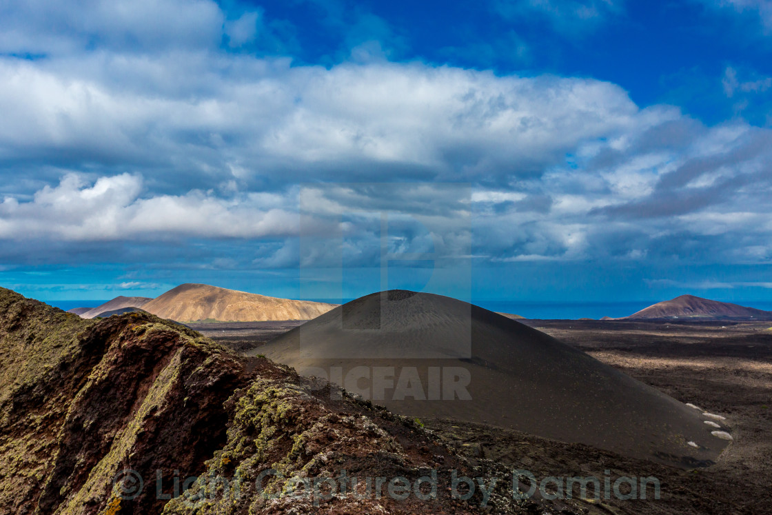 """The Volcanic View"" stock image"