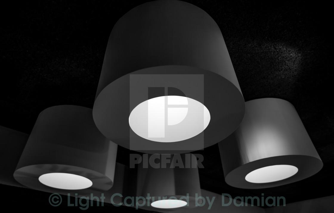 """Surrealistic lights"" stock image"