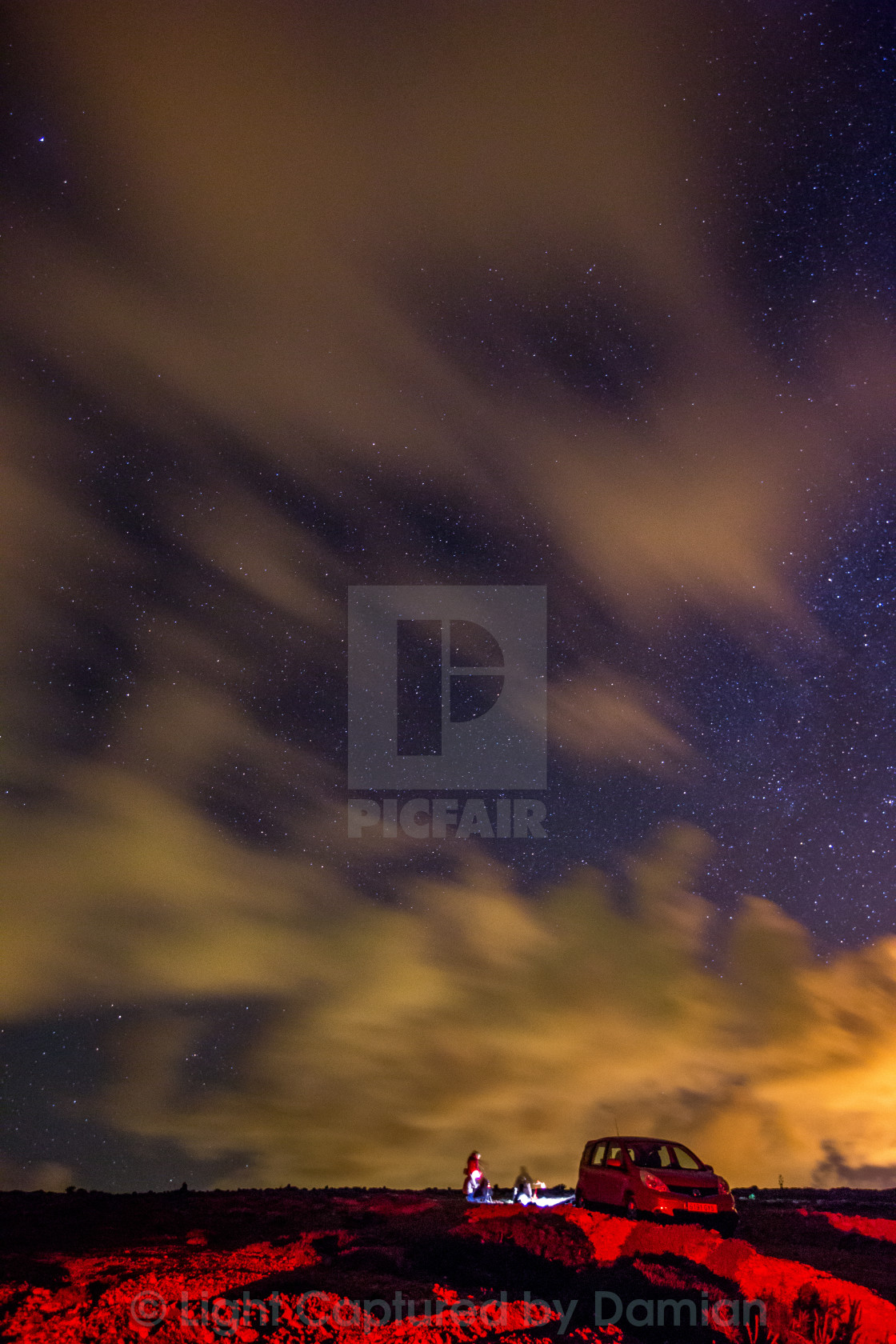 """Under the Night"" stock image"