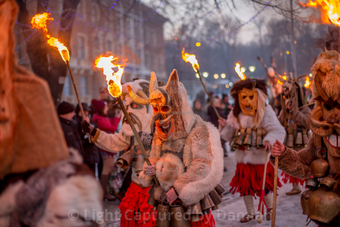 """Carrying that ritual fire while marching"" stock image"