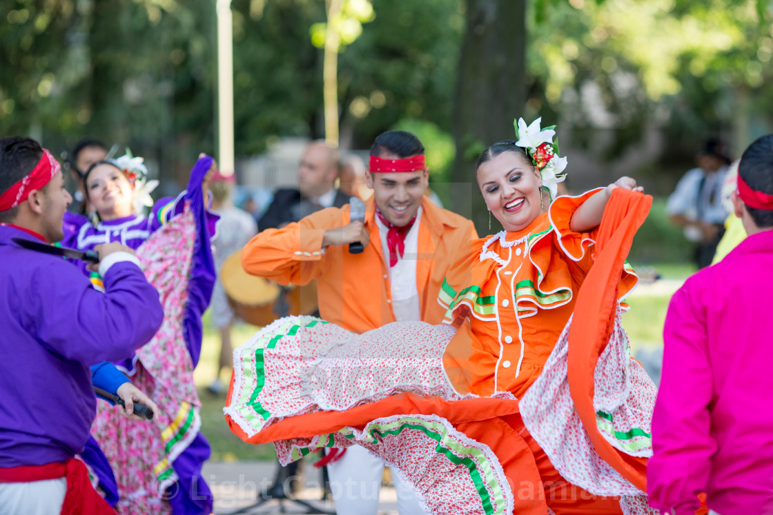"""""""Spectacular Mexican dance"""" stock image"""