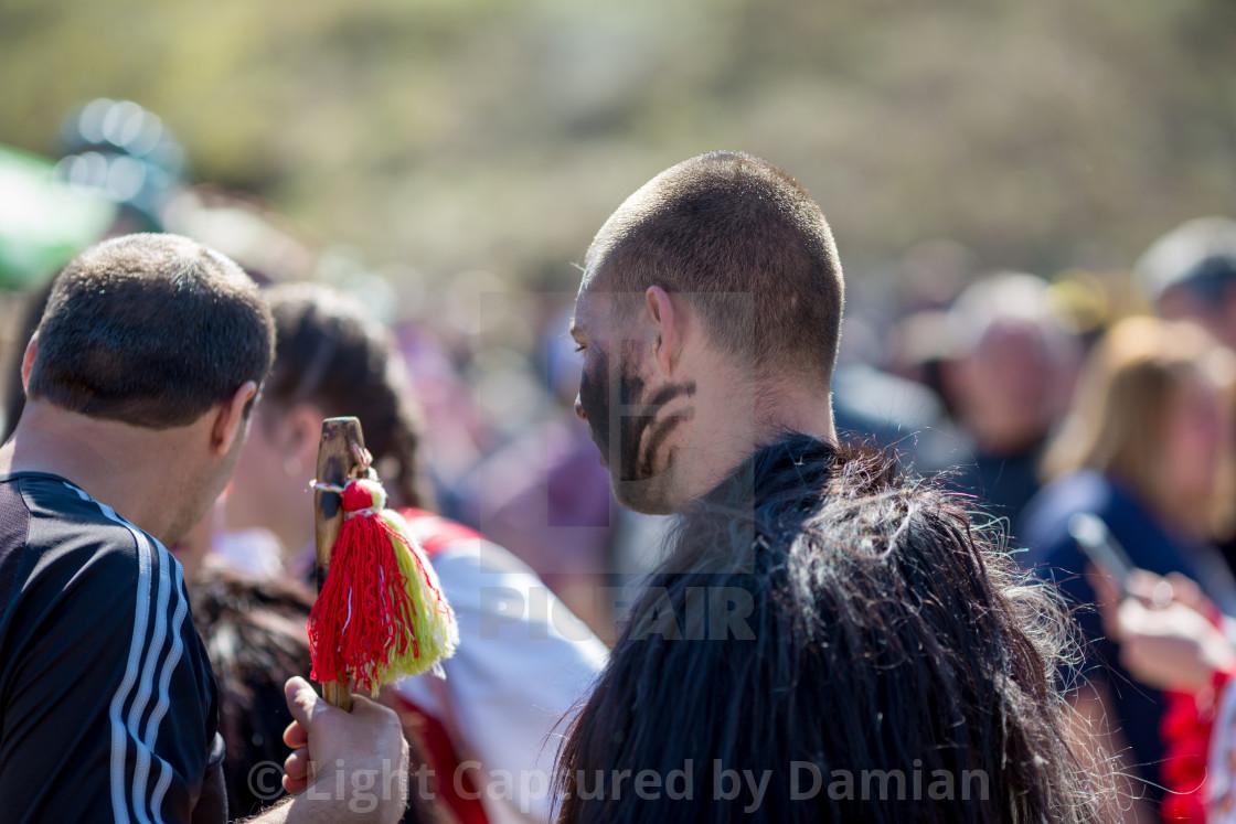 """Bulgarian folklore and masquerade festival Varvara"" stock image"