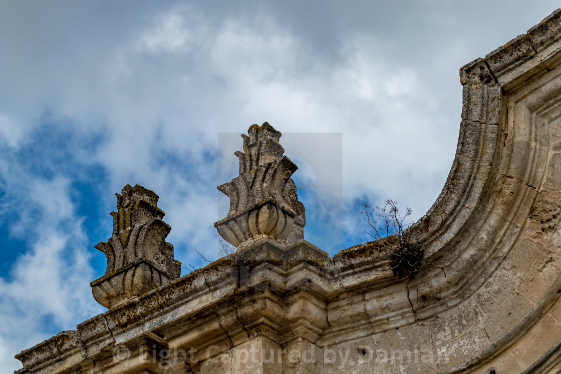 """""""Italy, architectural detail from historic center"""" stock image"""