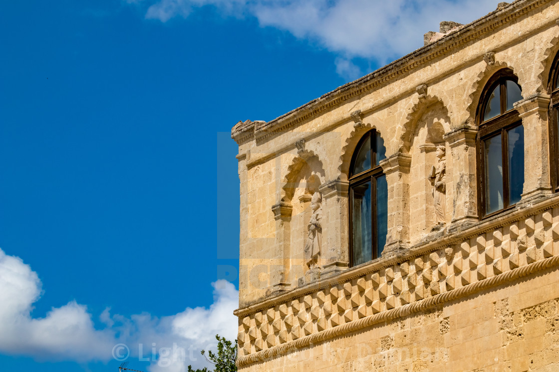 """Italy, architectural detail from historic center"" stock image"